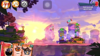 Angry birds 2 Clan battle CVC with bubbles 04/25/2021