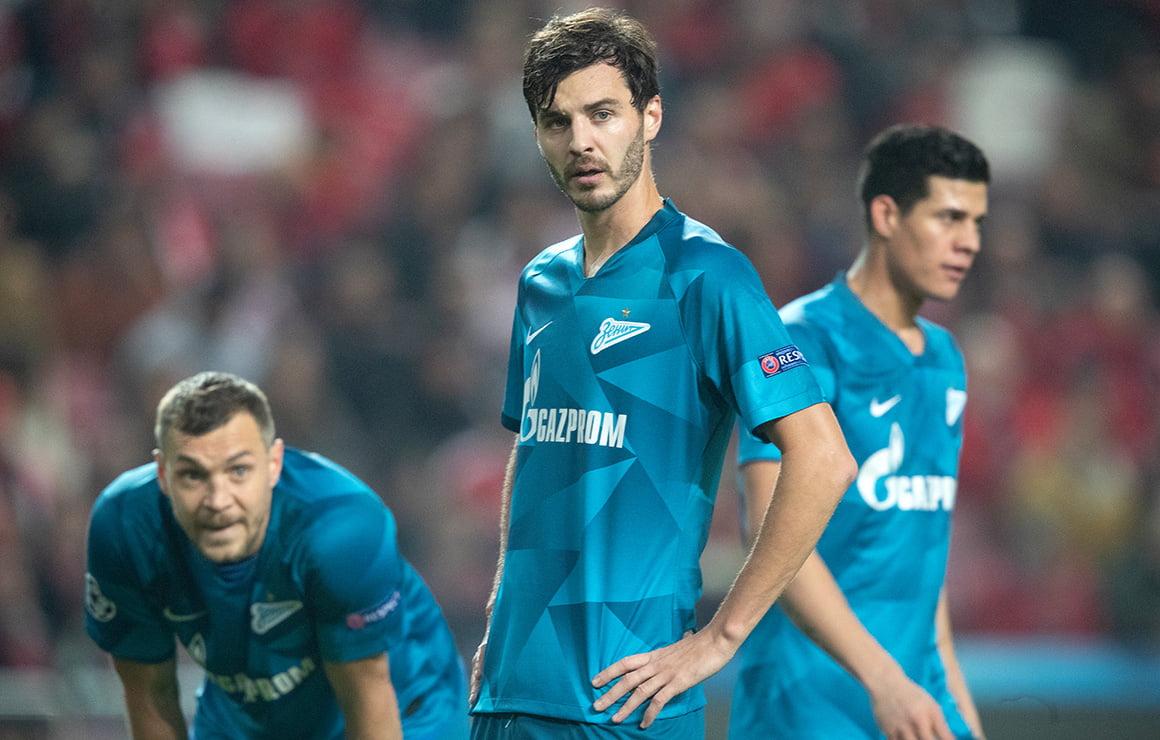 Бенфика - Зенит, 3:0. Лига чемпионов 2019/20