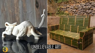 Crazy And Creative Art You Have To Watch It To Believe #52