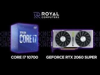 Core i7 10700 / GeForce RTX 2060 Super (Benchmark and Game Test)
