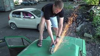 Как вырезать люк на запорожце заз 968м теперь как в танке
