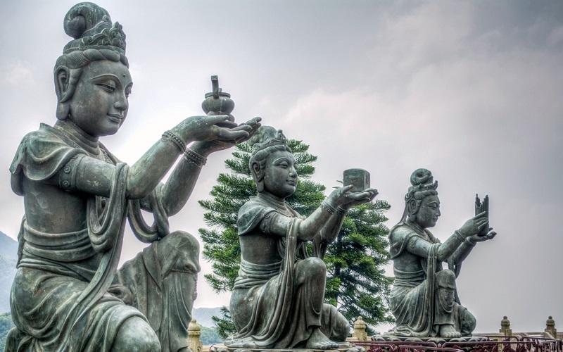 Большой Будда на острове Лантау, Гонконг, изображение №4