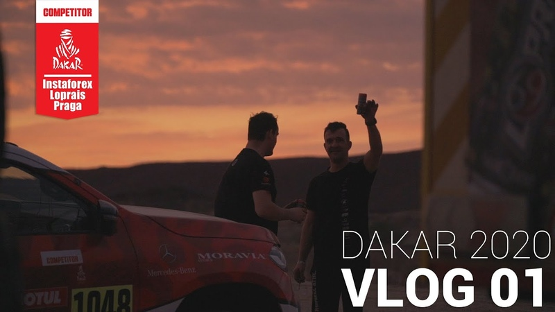 InstaForex Loprais Team DAKAR 2020 Shakedown vol 1 VLOG 01