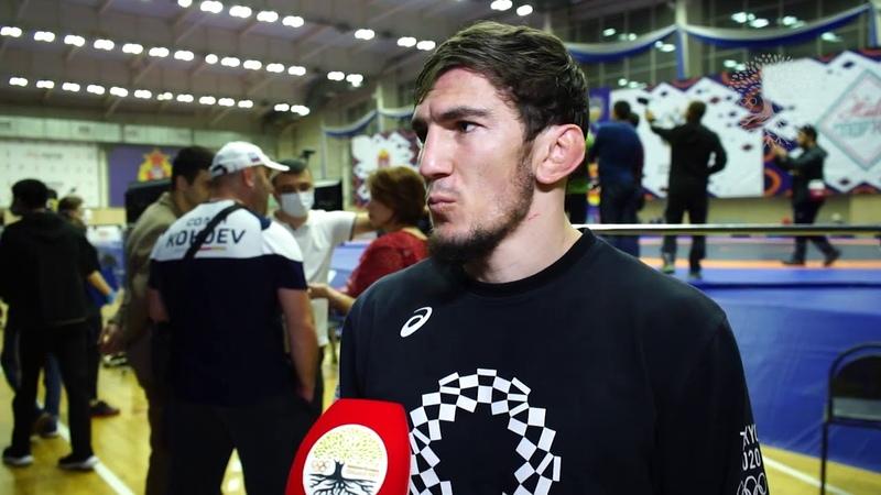 Ахмед Чакаев серебряный призер Чемпионата России по вольной борьбе Наро Фоминск