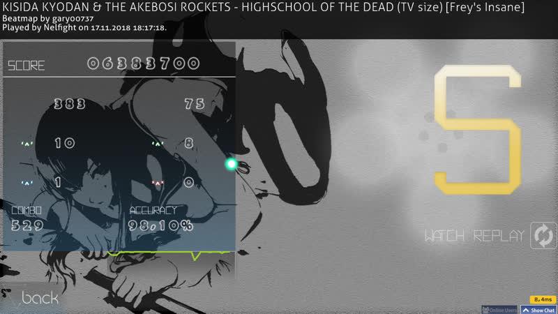 KISIDA KYODAN THE AKEBOSI ROCKETS HIGHSCHOOL OF THE DEAD TV size Frey s Insane noCBpass