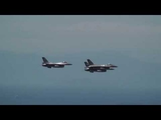 Hellenic Air Force Aircrafts over Athens 25/3/2014
