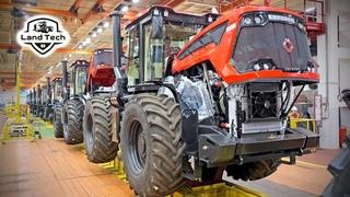 Настоящий Российский! Как производится легендарный трактор Кировец К-7М и К-525