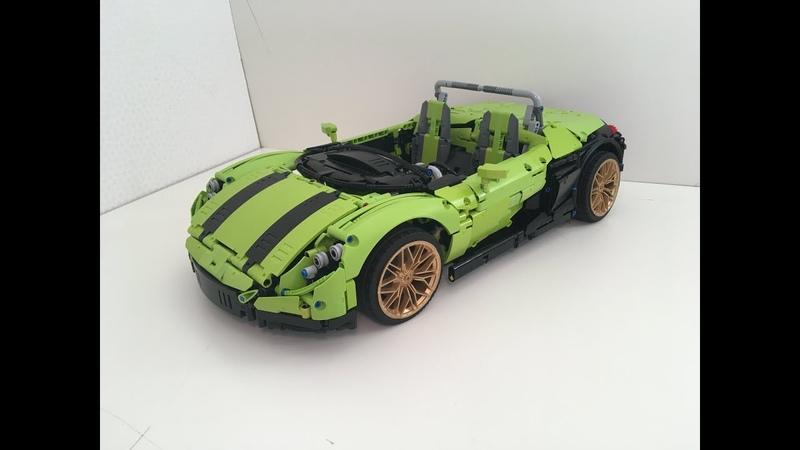 Lego Technic 42115 B Renaultsport Spider