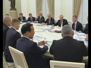 Глава Хакасии стал участником встречи, которую провел президент России