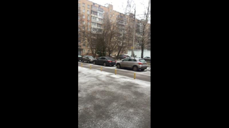 Снег пошёл