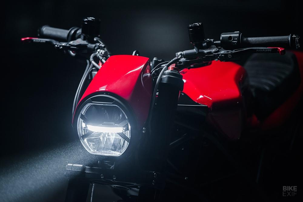 North East Custom: кафе рейсер Ducati Multistrada
