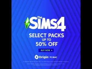 The Sims 4   Распродажа наборов в Origin