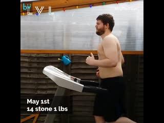 Пробежки каждый день в течении 8 месяцев