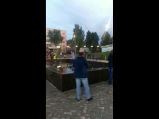 Открытие фонтана в Дюртюлях