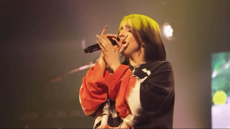 """Full performance my future"""" and Therefore I Am"""" by Billie Eilish CES 2021"""