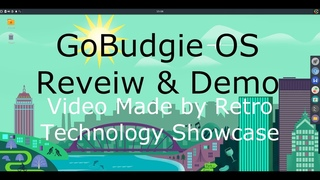 'GoBudgie' Linux OS Overview & Review- So Much Potential.