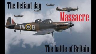 IL 2 Sturmovik  COD The battle of Britain day by day 19/07/1940 The Defiant day Massacre.