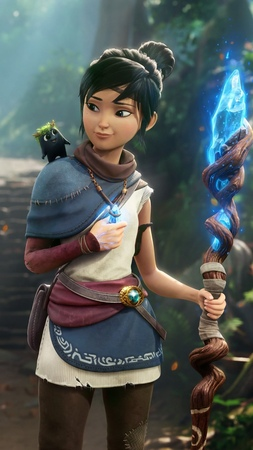 """Ember Lab on Instagram Check out the latest trailer of Kena Bridge of Spirits releasing August 24th Get a closer look at gameplay new locations and some of…"""""""