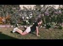 Домашние упражнения с чемпионкой мира по тайскому боксу - Катей Поповой №24
