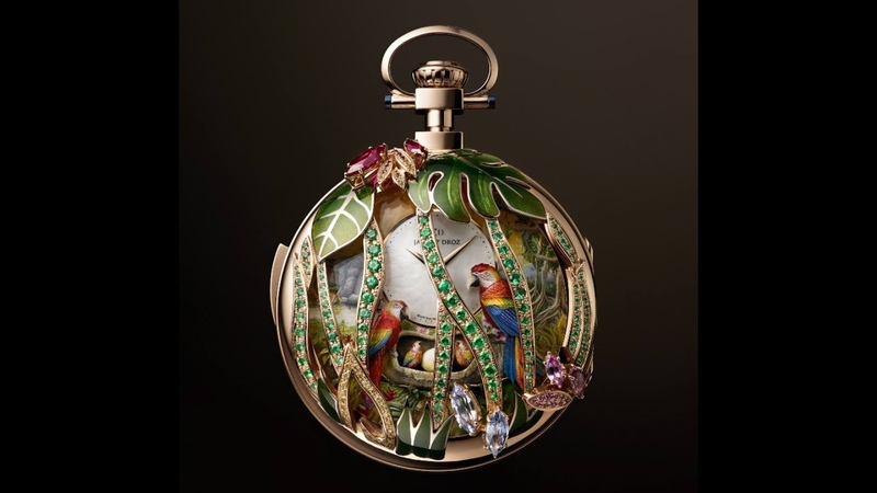 Baselworld 2018 Jaquet Droz Parrot Repeater Pocket Watch (One-of-a-Kind Watchmaking)