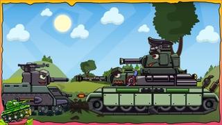 Chơi game bắn xe tăng Quái vật - Leviathan Dora Kv-6 Tankozila Patte #2   Phim hoạt hình về xe tăng