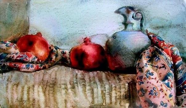 Акварели Елены Букингольц Елена Букингольц родилась в 1966 году в Ставрополе. Там же окончила художественное училище.В поисках работы, близкой к профессии художника, попала в литейную мастерскую