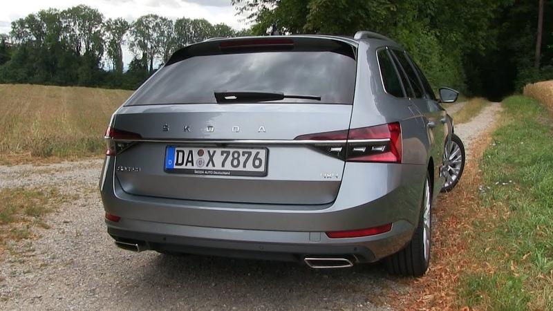 2020 Skoda Superb Combi 2.0 TSI Style 4x4 Facelift (272 HP) TEST DRIVE