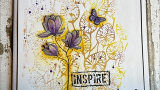Inspire And Create with the new Lilium stamp # LaviniaStamps