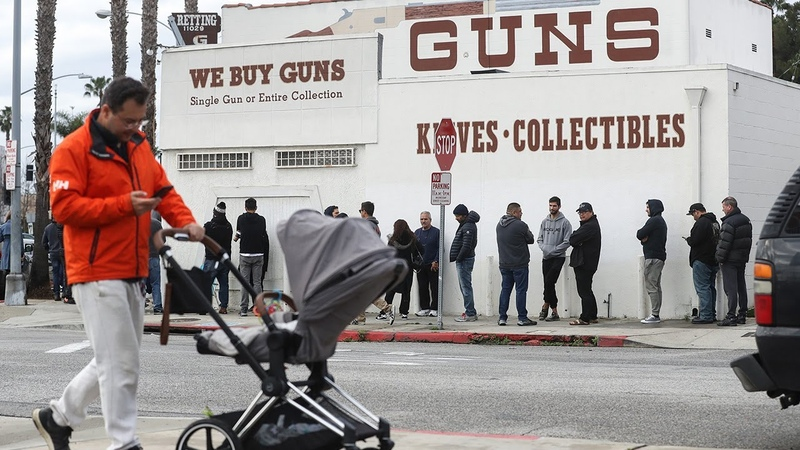Americans panic buying guns and ammunition amid coronavirus pandemic