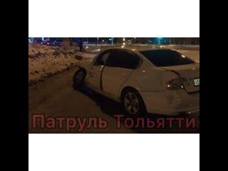 Авария на перекрёстке Карбышева-Комсомольская