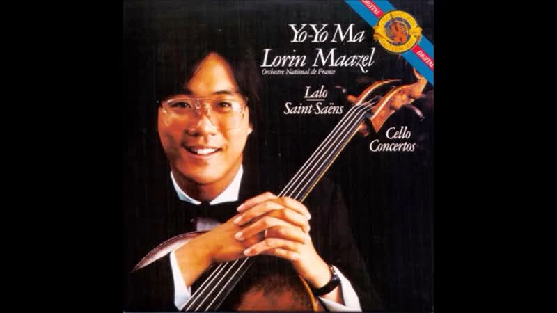 Yo-Yo Ma Saint Saëns Édouard Lalo Cello Concertos