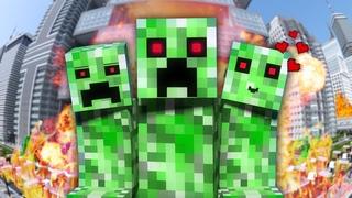 НЯША КРИПЕР - Майнкрафт Клип | Песня Minecraft Parody Song of PSY's Daddy на русском RUS