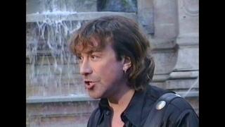 """ВЛАДИМИР КУЗЬМИН Съемки клипа «Небеса». Russian rock star VLADIMIR KUZMIN shoots video """"Heaven"""" 2001"""