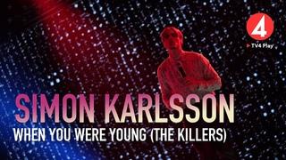 "Simon Karlsson – ""When You Were Young"" – The Killers – Idol 2020 - Idol Sverige (TV4)"