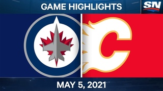 NHL Game Highlights | Jets vs. Flames - May 5, 2021