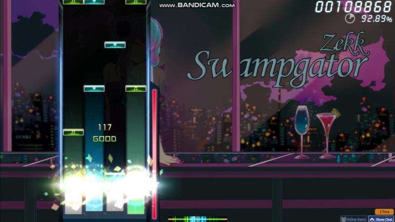 Osu! mania Zekk - Swampgator [Fontes Insane] by Lerck