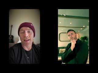 Ronan Keating & Gary Barlow - Baby Can I Hold You (Live)