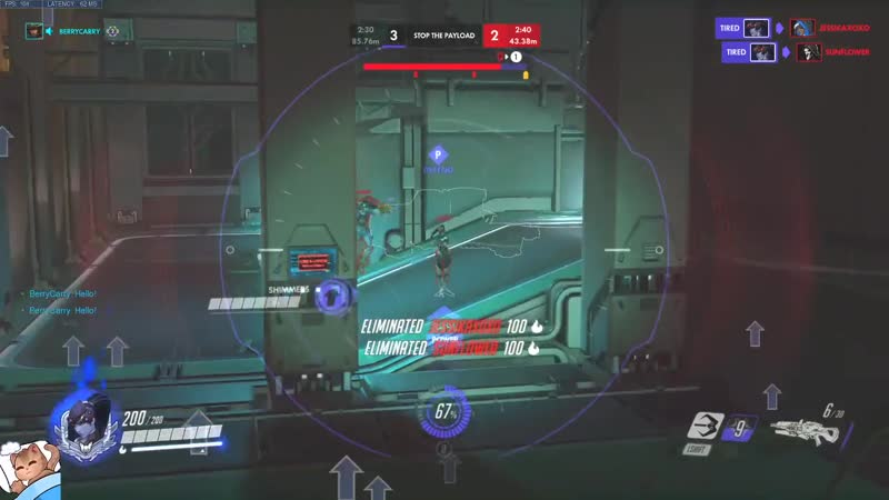The first flick on reaper was just so perfect..