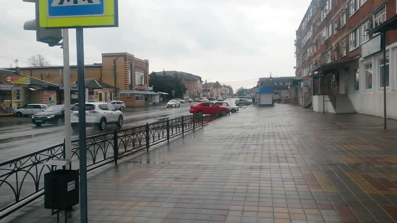13 ч прогулка по городу перекресток ул октябрской и красной 30 03 2020г
