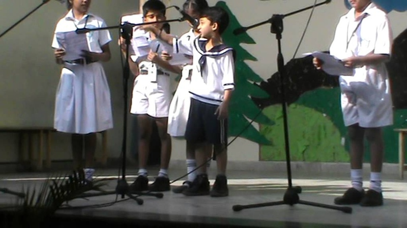 Aneesh Daffodils Poem Recitation