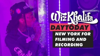 Wiz Khalifa - DayToday - New York for filming and recording