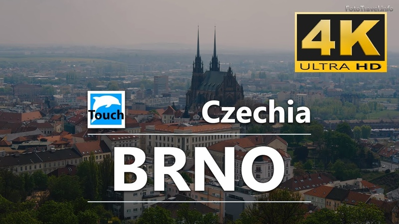 Brno the most interesting places to visit 4K 21 min