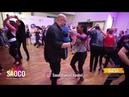 Mario Hazarika and Ines Effoti Salsa Dancing at El Sol Warsaw Salsa Festival Friday 09 11 2018