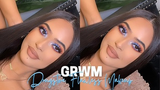 GRWM ♡ Full Coverage DRUGSTORE Routine✨ MAKEUP TUTORIAL | BH COSMETICS BFF ALONDRA & ELSY Palette