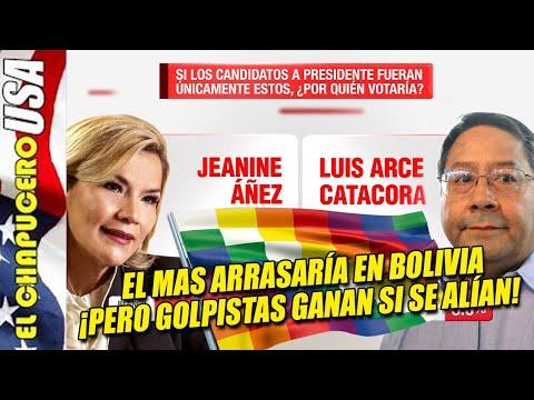 Evo Morales arrasaría en primera vuelta en Bolivia, pero perdería la segunda