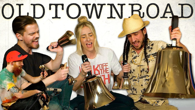 Old Town Road Walk off the Earth Lil Nas X Billy Ray Cyrus Cover