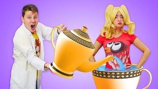 Интересное видео про блондинку. Физика: веселые уроки. Эксперимент Кипение воды
