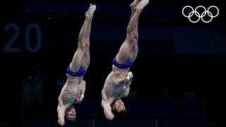 Бондарь и Минибаев взяли бронзу в прыжках в воду!