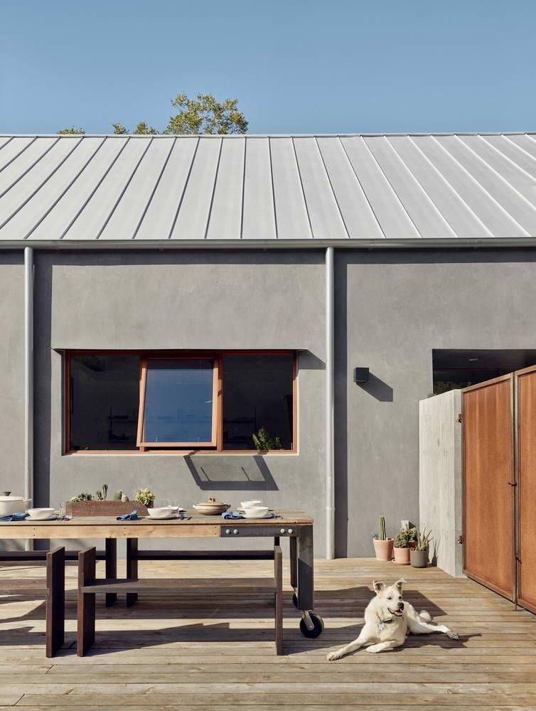 Casey House (177 м2) — очень простой дом в США по проекту Side Angle Side.