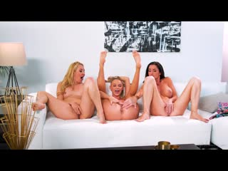 Emma Hix, Silvia Saige and Aaliyah Love - Tempted By The Babysitter